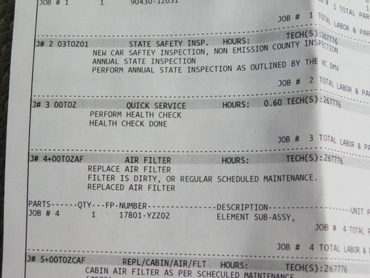 toyota camry required maintenance schedule